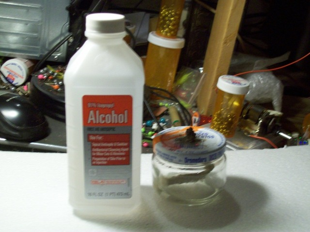 Diy Alcohol Lamp For Painting Jig Heads Dirtbag